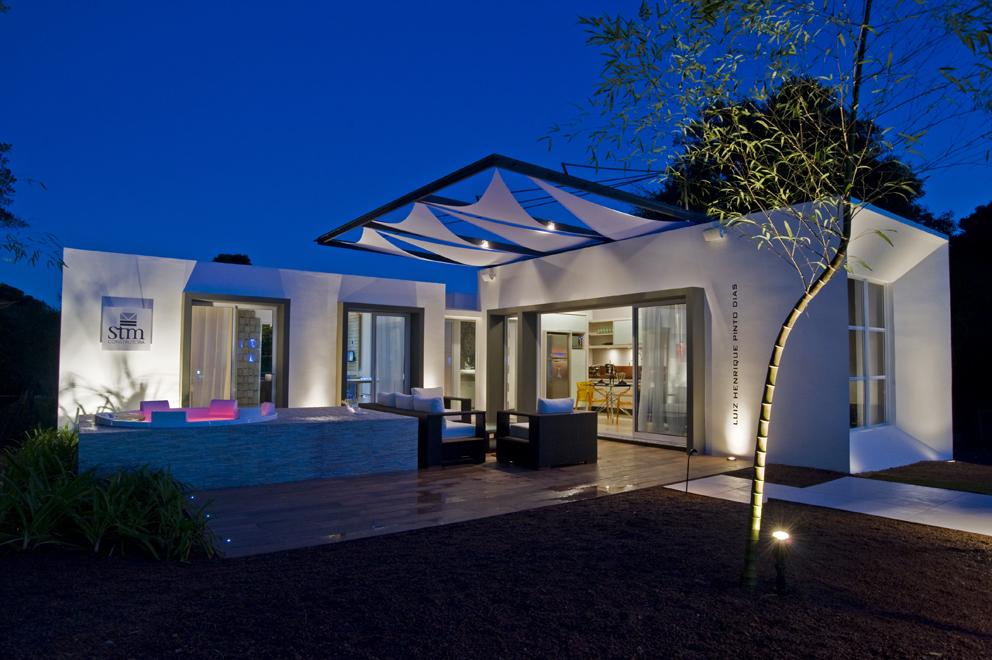 Projeto do arquiteto Luiz Henrique Pinto Dias para a Casa Cor PR 2010.